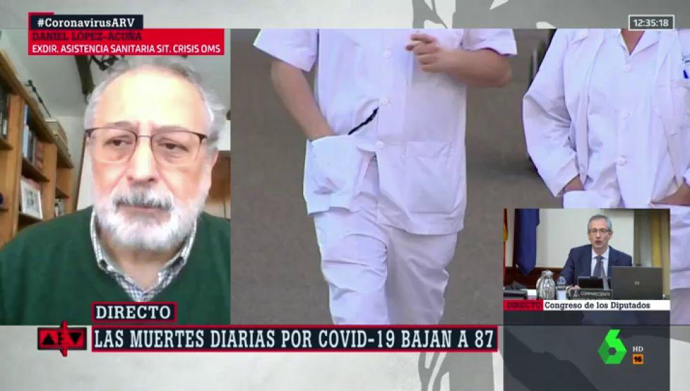 Daniel López-Acuña, en ARV