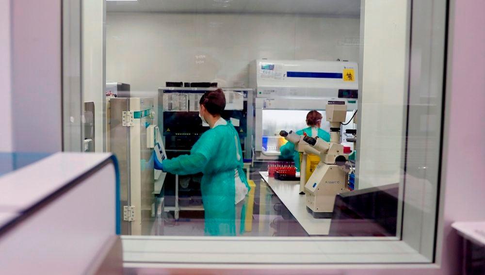 Sanitarios en la pandemia de coronavirus