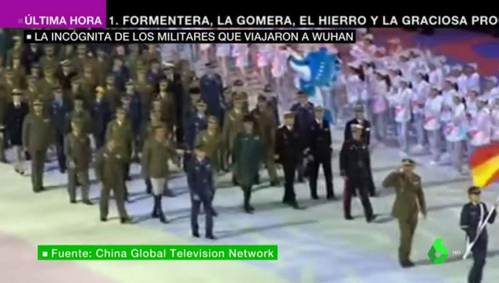 El Covid-19 podría circular desde octubre: militares españoles que participaron en los Juegos de Wuhan tuvieron síntomas compatibles