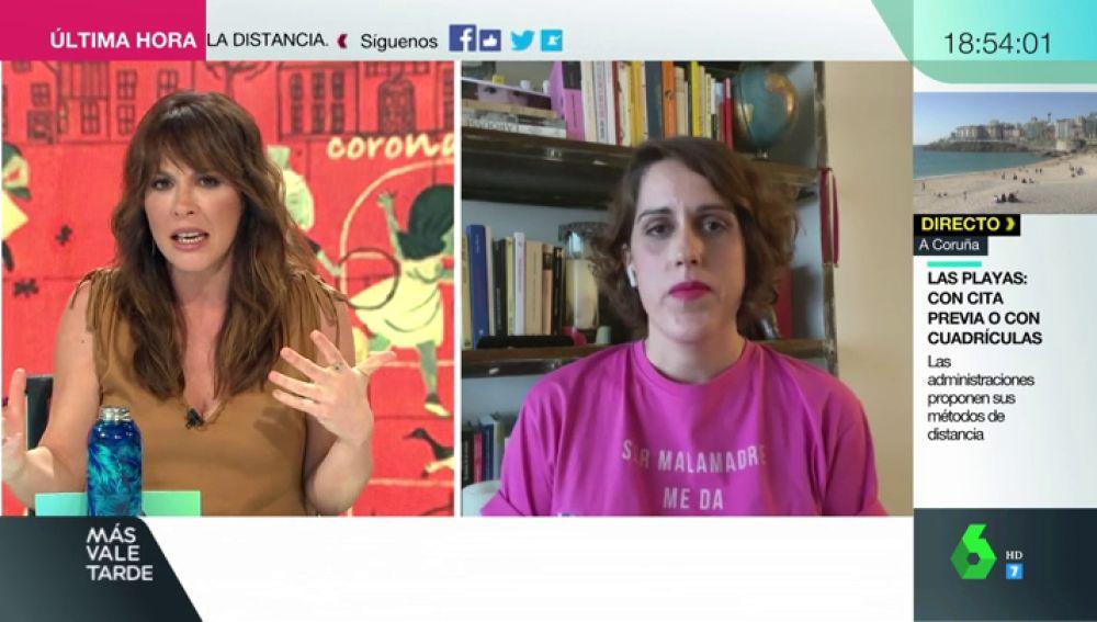 Laura Baena, fundadora del Club de las Malasmadres