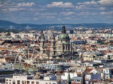 Panorámica de Budapest, Hungría
