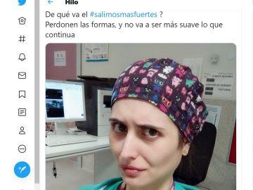 La denuncia de la doctora Elena Casado en las redes sociales