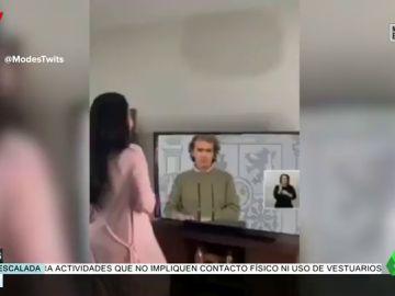 La 'verdadera' razón por la que Fernando Simón se atragantó en directo