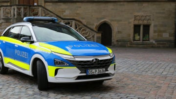 Coches Hyundai para la policía europea