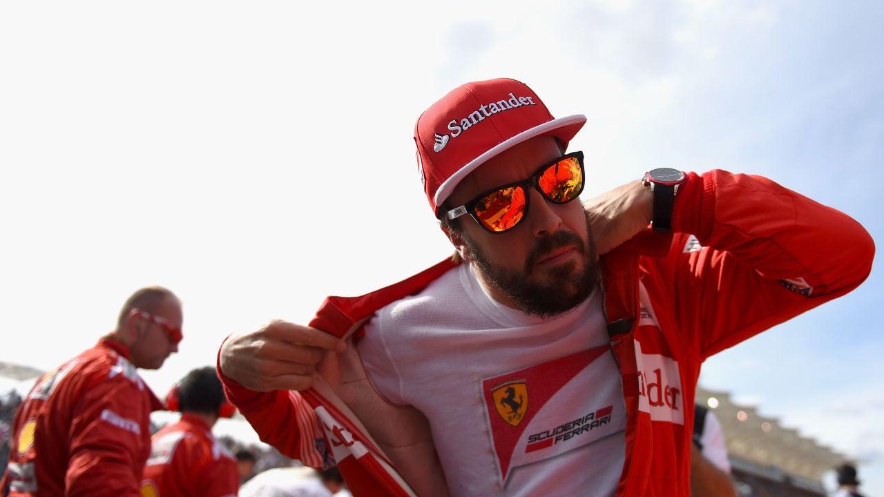 Fernando Alonso, en Ferrari
