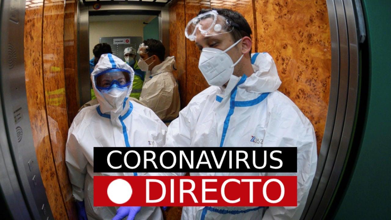 Coronavirus España: nuevos casos, muertos y desescalada de fase 1 y 2, en directo