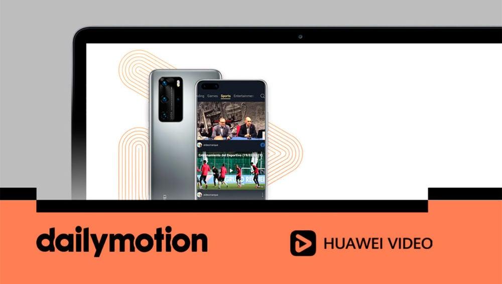 Huawei y Dailymotion