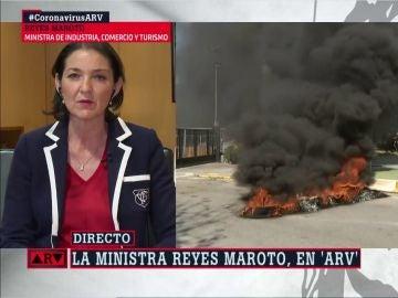 Reyes Maroto, en ARV
