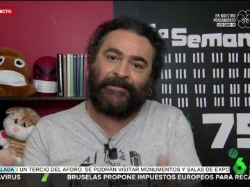La reacción del padre de El Sevilla al escuchar a Álvarez de Toledo llamar 'terrorista' al padre de Iglesias