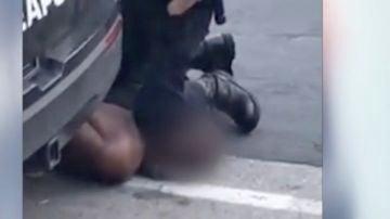 La acción policial en la que falleció George Floyd