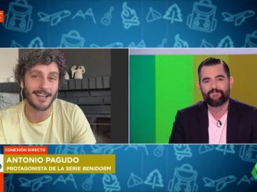 """Antonio Pagudo alucina a los zapeadores con sus """"abdominales de acero"""""""