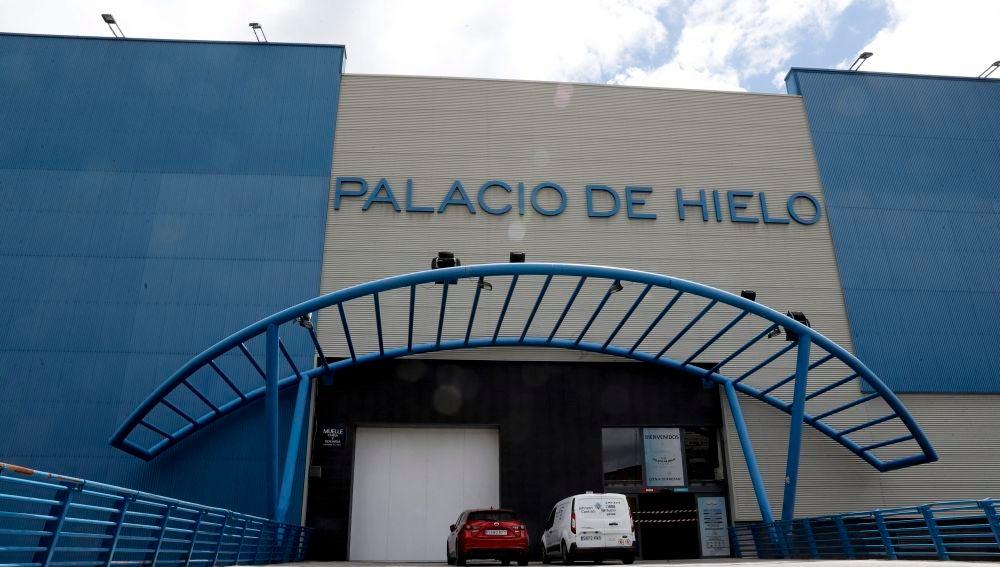 Fachada del Palacio de Hielo (Madrid)