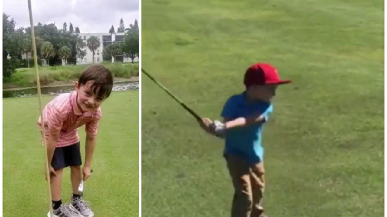 William Kelly, niño prodigio del golf