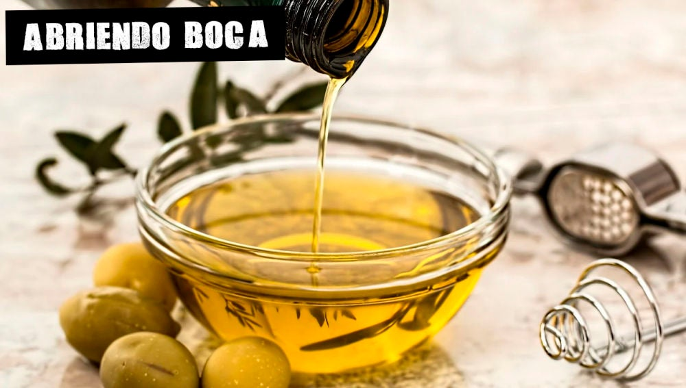 Imagen de archivo de aceite de oliva