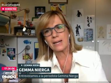 La periodista Gemma Nierga, en Liarla Pardo