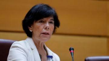 La ministra de Educación y Formación Profesional, Isabel Celaá