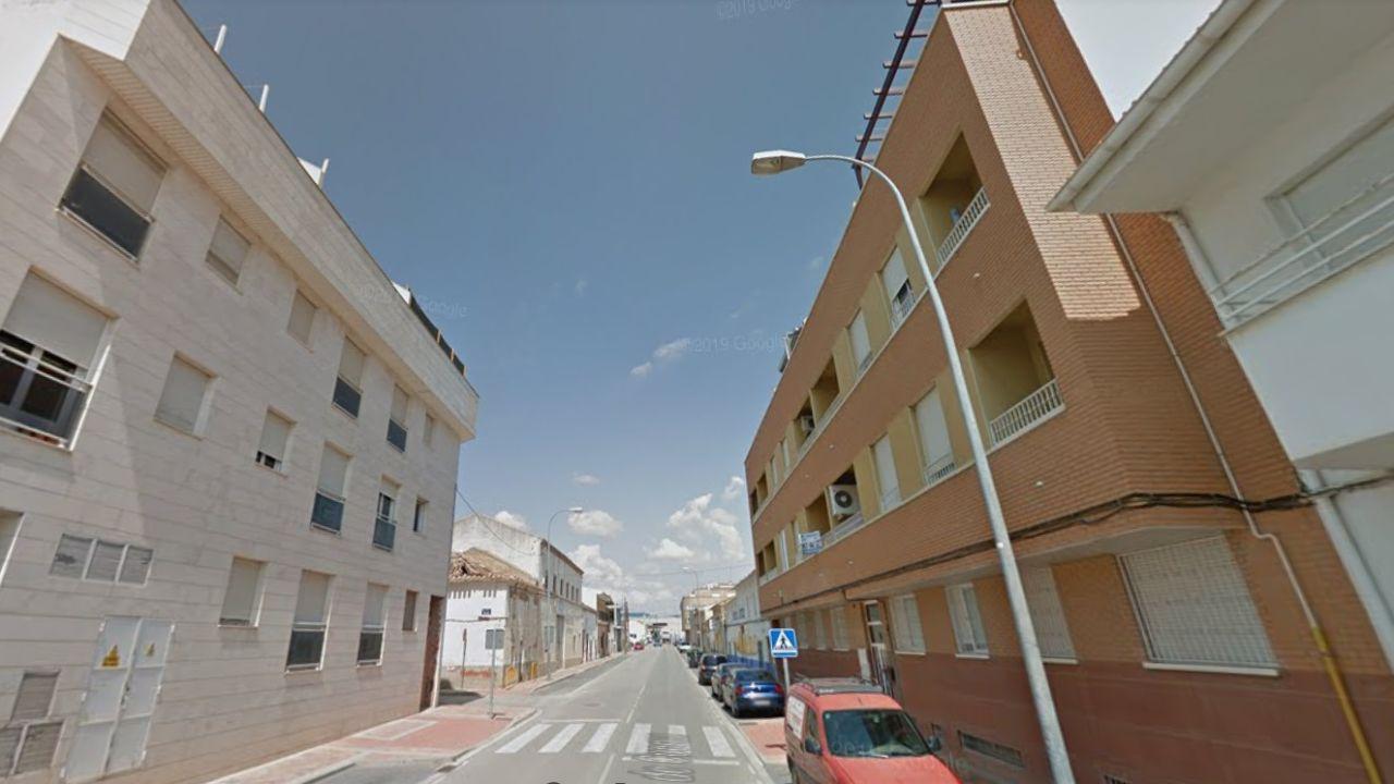 Imagen de la calle Puerta de Cuenca, en La Roda.