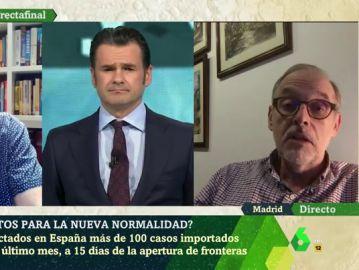 Entrevista en laSexta Noche al profesor del CSIC, Antonio Figueras