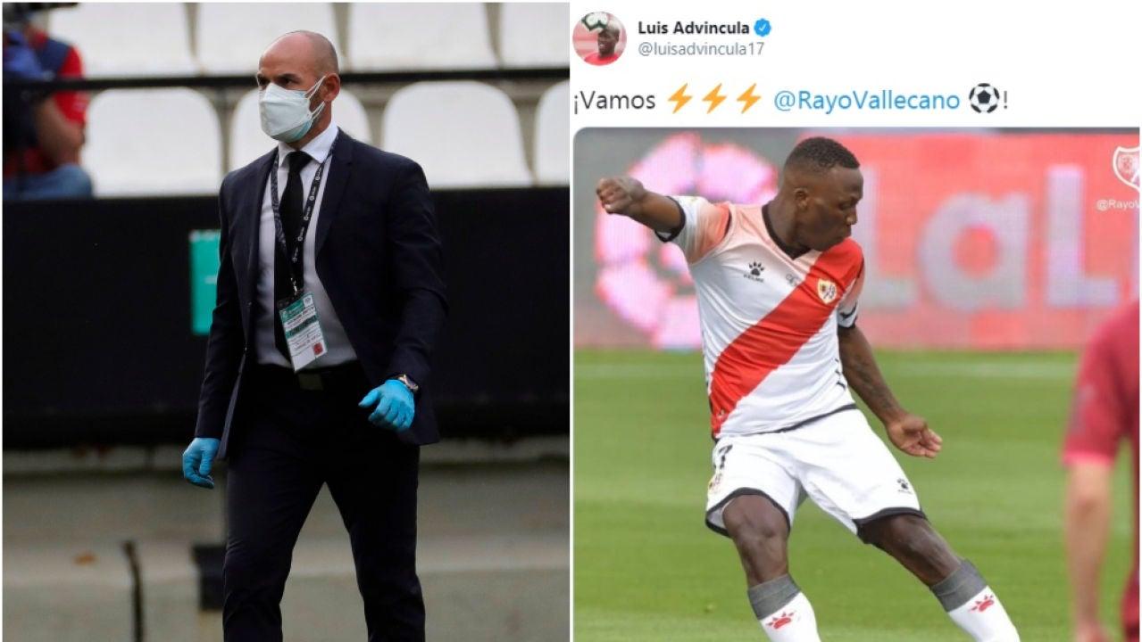Paco Jémez y Luis Advíncula