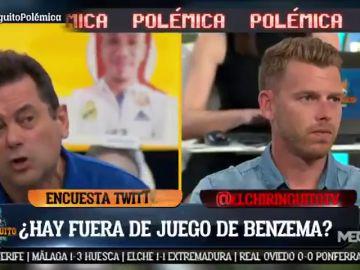 Tremendo cara a cara entre Tomás Roncero y Jota Jordi en 'El Chiringuito' por el VAR
