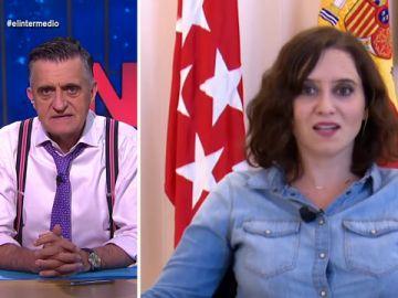"""Wyoming alucina al escuchar a Ayuso decir que el jefe de su consejero de Madrid es Iglesias: """"¡Pero qué morro, si lo eligió ella!"""""""