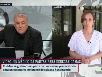 La diputada de Más Madrid, Mónica García