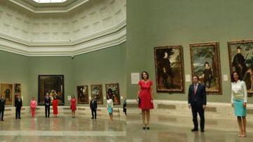 Acto de presentación de la campaña 'Spain for sure' en el Museo del Prado