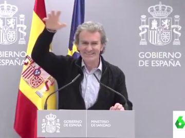 """Así es el viral musical de Fernando Simón al ritmo de Junco que arrasa en redes: """"Hola mi amor, tengo que hablar contigo"""""""