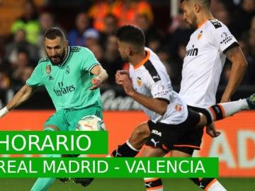 Real Madrid - Valencia: Horario, posibles alineaciones, dónde ver el partido y previa