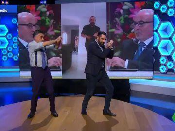 Wyoming y Dani Mateo presentan paso a paso la coreografía oficial del 'temazo' del chis