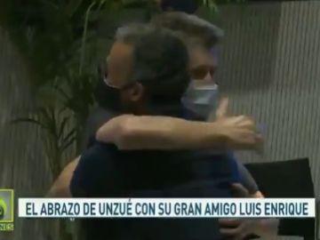 Luis Enrique y Juan Carlos Unzué.