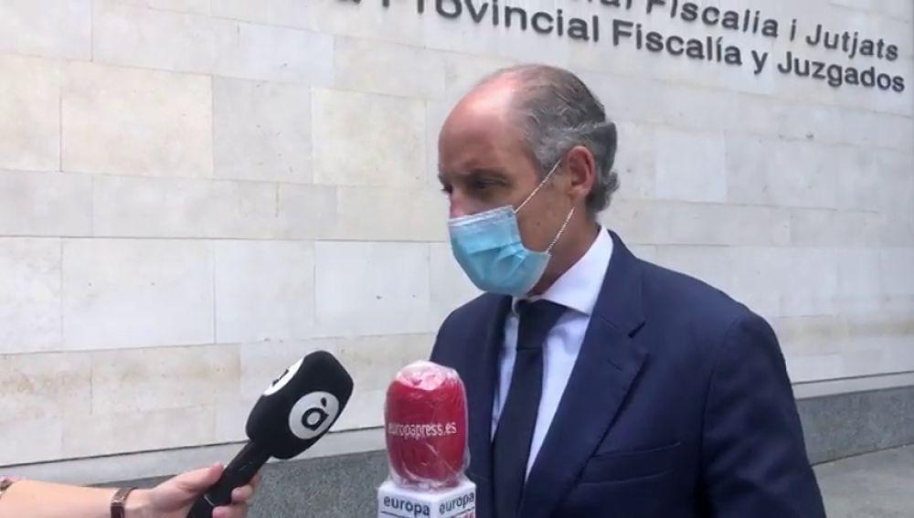 """Camps confirma que ha pasado el coronavirus y asegura que """"si España se hubiera cerrado antes, Cotino estaría vivo"""""""