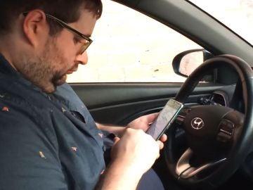 Usar el móvil en el coche