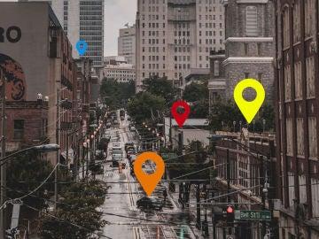 Puntos de interés en Street View