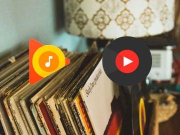 Google Play Música y YouTube Music