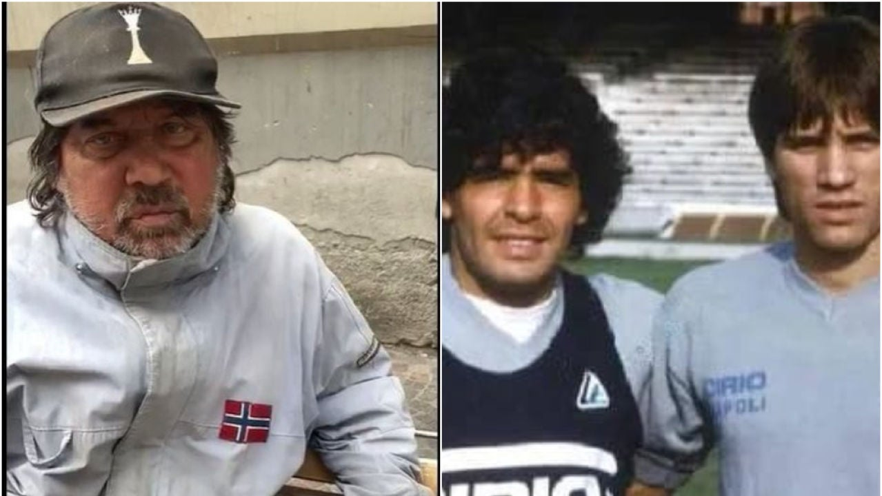 Pietro Puzone y Maradona