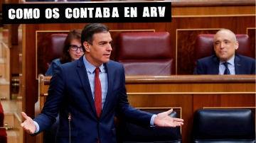 Imagen de Sánchez en el Congreso