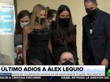 El emotivo funeral de Álex Lequio: Ana Obregón y Alessandro Lequio dan el último adiós a su hijo
