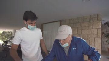 Carlos Sainz y su abuelo