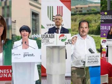 Conoce a los partidos políticos que se presentan a las elecciones vascas 2020