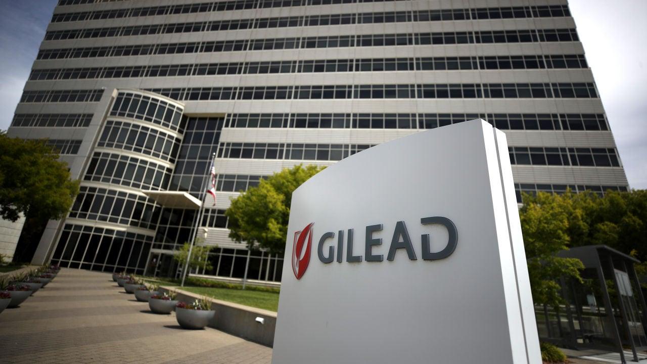 Fachada del edificio de Gilead Sciences, fabricante del Remdesivir
