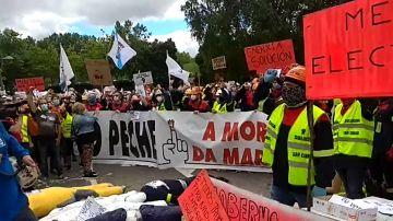 Huelga general de los trabajadores de Alcoa