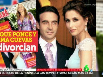 Enrique Ponce y Paloma Cuevas se divorcian después de 24 años de matrimonio