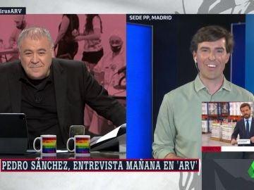 Pablo Montesinos en Al Rojo Vivo