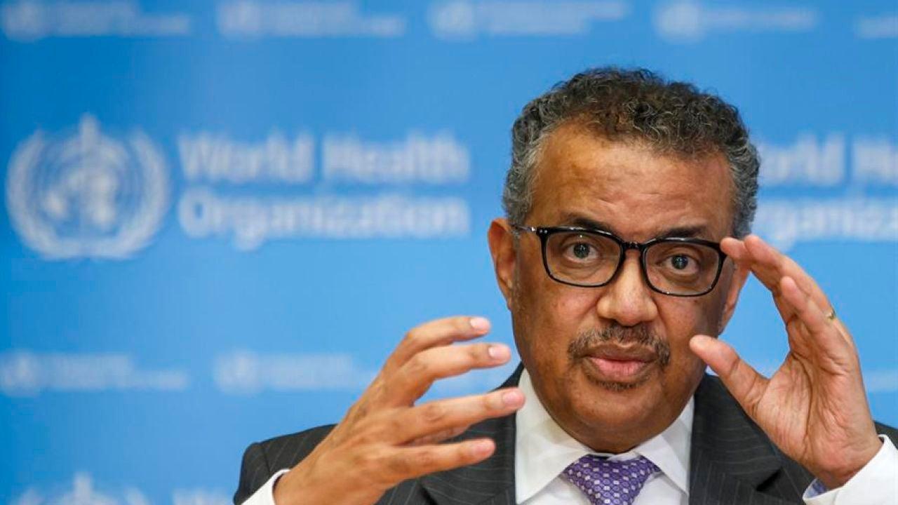 - El director general de la Organización Mundial de la Salud (OMS), Tedros Adhanom Ghebreyesus.