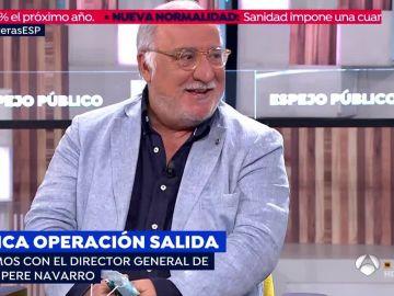 Director de la Dirección General de Tráfico, Pere Navarro