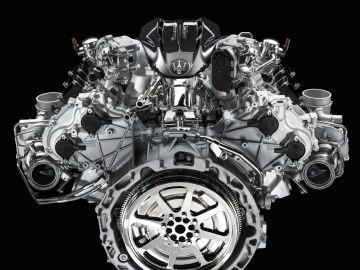Motor del Maserati MC20