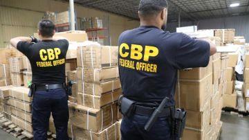 Fotografía cedida por la Oficina de Aduanas y Protección Fronteriza de Estados Unidos