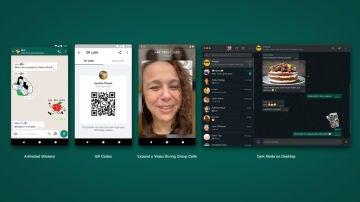 """Whatsapp presenta cinco mejoras que se implemetarán para todos los usuarios en """"las próximas semanas"""""""