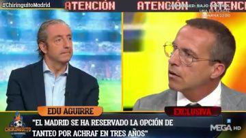 Pedrerol y Cristóbal Soria